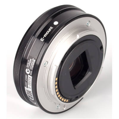 Sony Lens SEL16F28 E 16mm F2.8 4