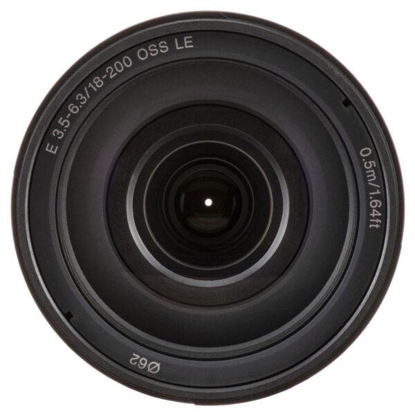 Sony Lens SEL18200LE E 18 200mm F3.5 6.3 OSS LE 4
