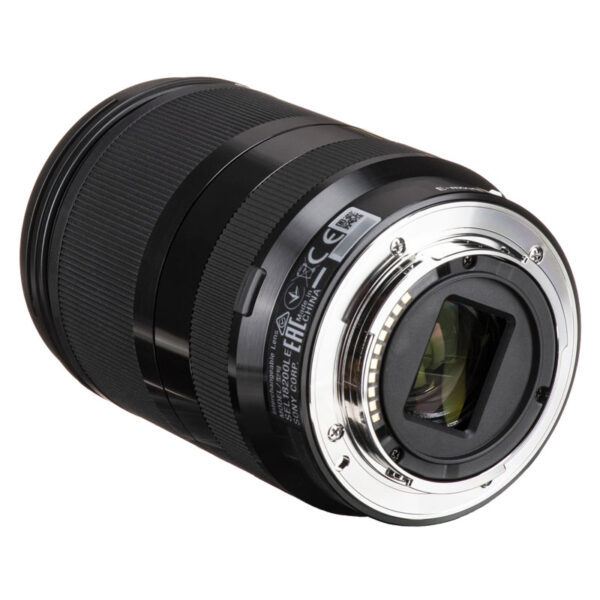Sony Lens SEL18200LE E 18 200mm F3.5 6.3 OSS LE 5