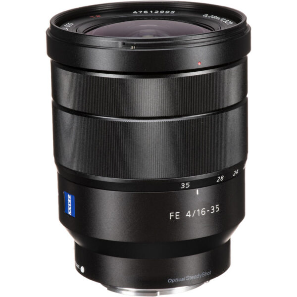 Sony Lens ZA SEL1635Z FE 16 35mm F4 OSS 4