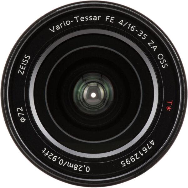 Sony Lens ZA SEL1635Z FE 16 35mm F4 OSS 5