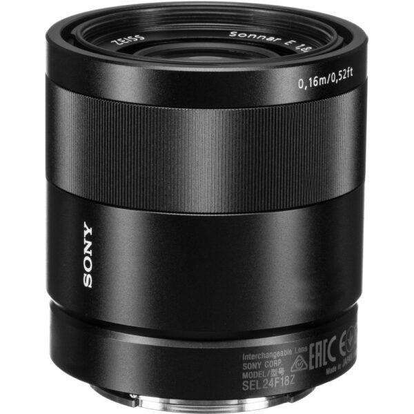 Sony Lens ZA SEL24F18Z E 24mm F1.8 5