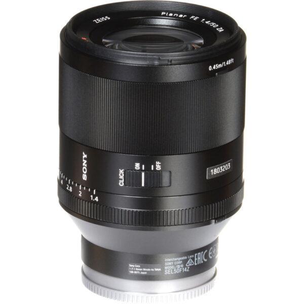 Sony Planar T FE 50mm f1.4 ZA Lens 16