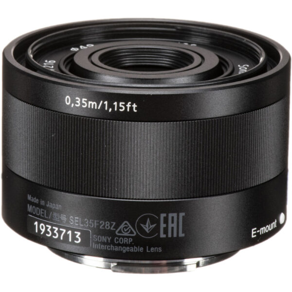Sony Sonnar T FE 35mm f2.8 ZA Lens 4