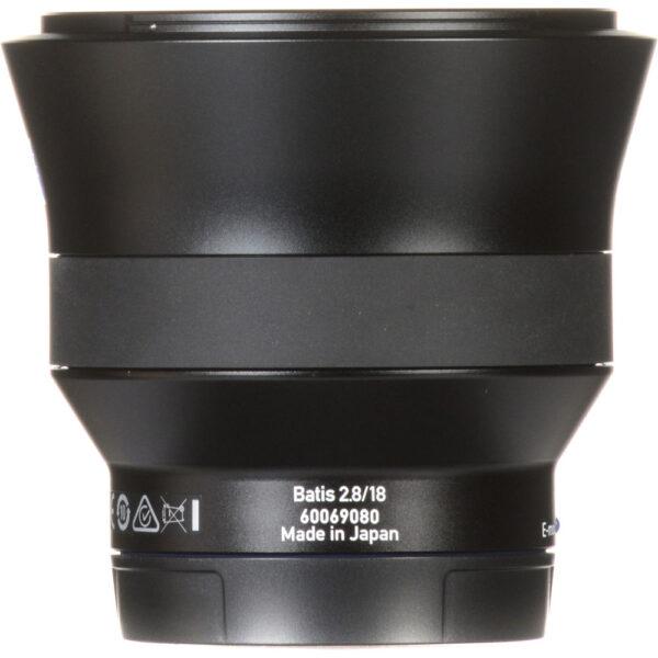 ZEISS Batis 18mm f2.8 Lens for Sony E 11