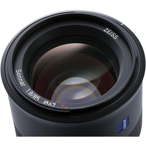 ZEISS Batis 85mm f1.8 Lens for Sony E 5