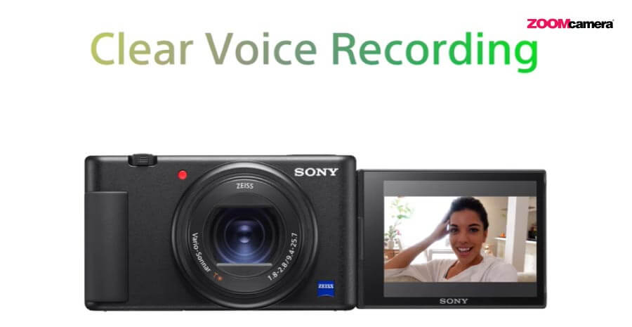 sony zv1 clear voice record
