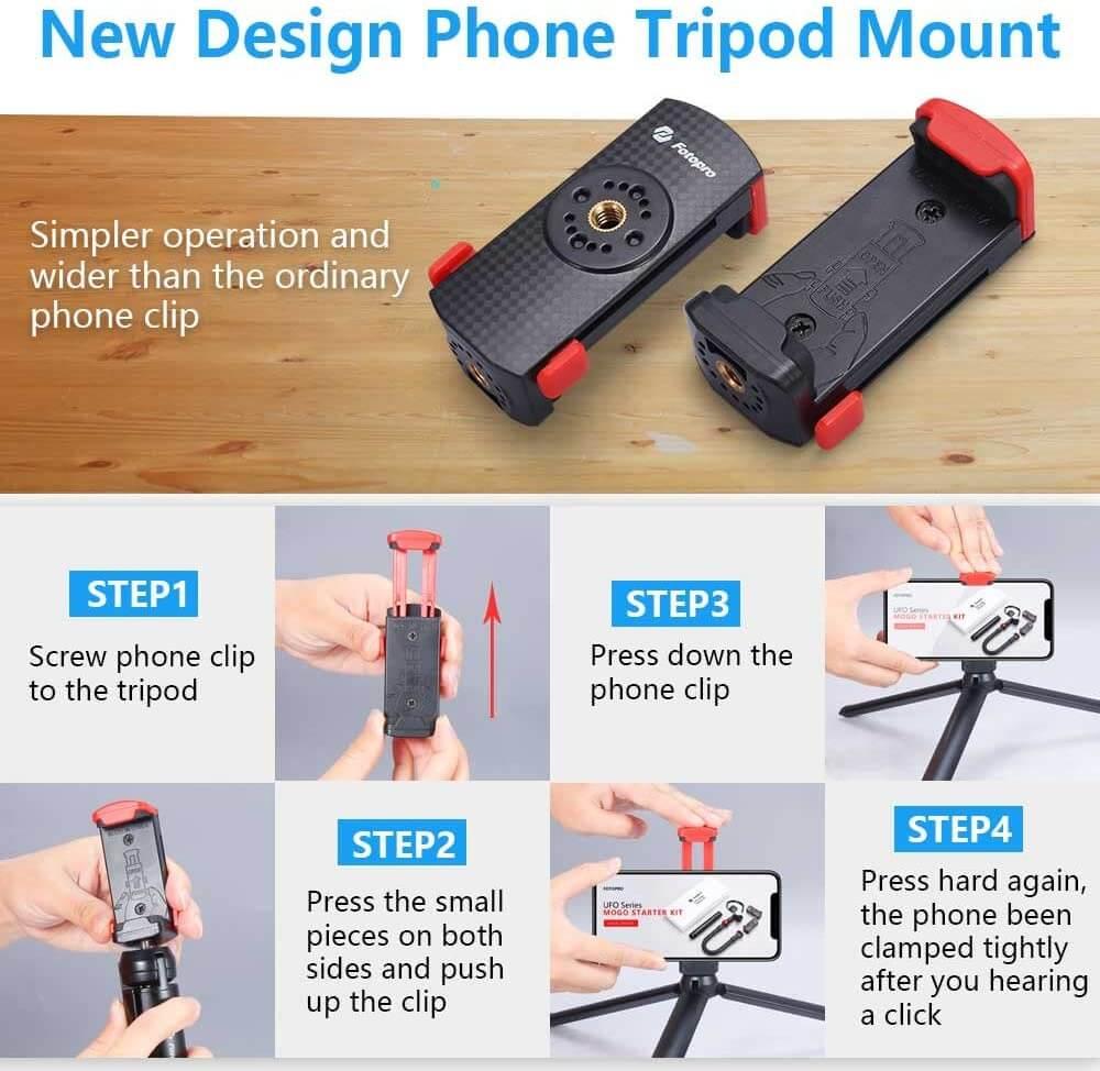 fotopro uFO mogo smartphone mount