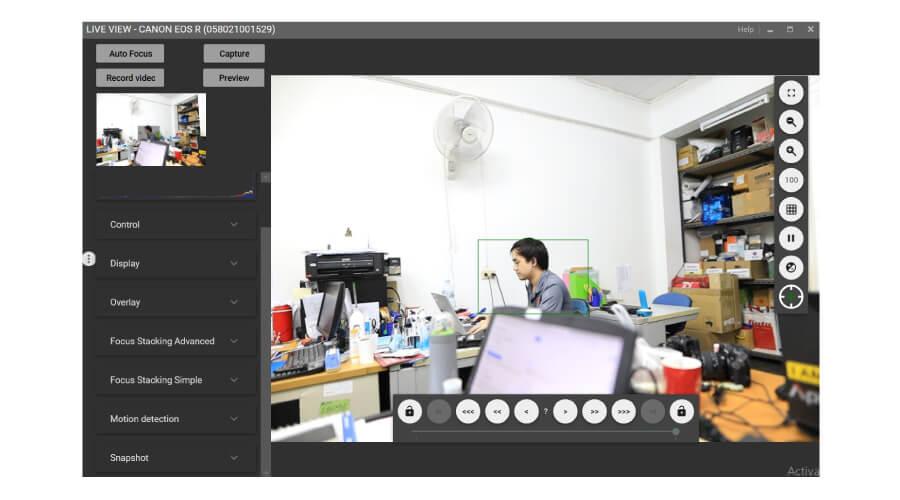 Digicam Control Liveview