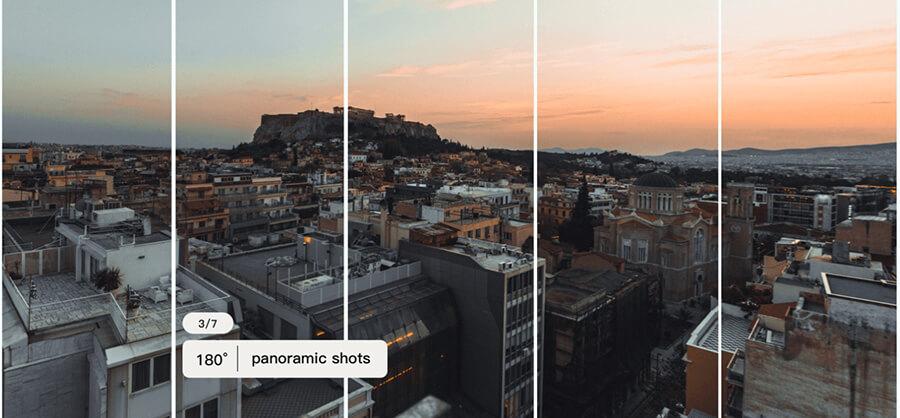 zhiyun smooth X Start Panorama
