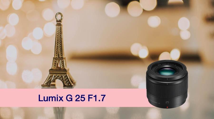 เลนส์ถ่ายสาว Lumix G 25mm.