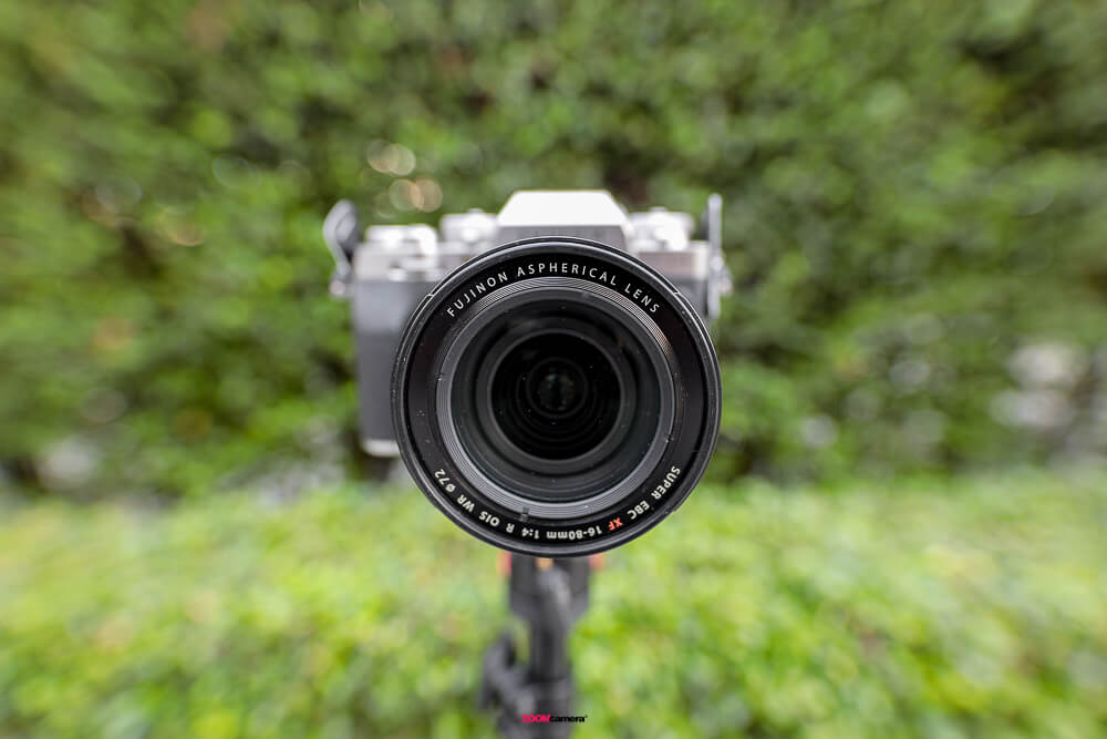 Review Fujifilm 16-80 F4 OIS WR Filter