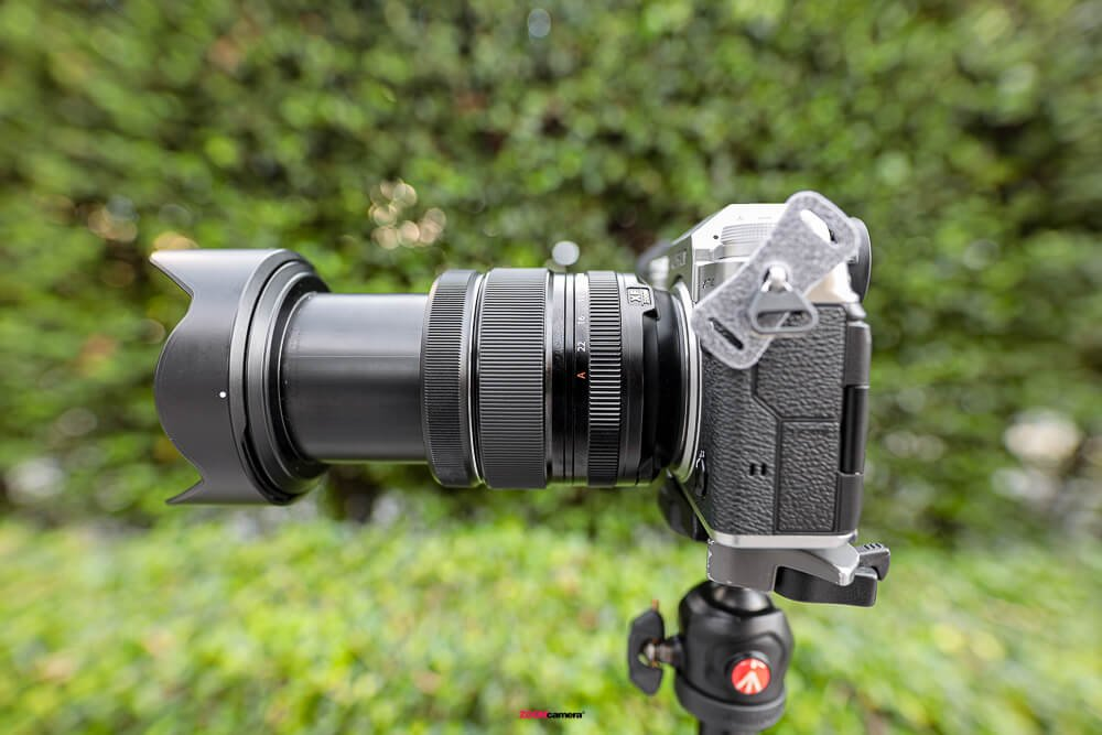Review Fujifilm 16-80 F4 OIS WR Zoom 80mm.