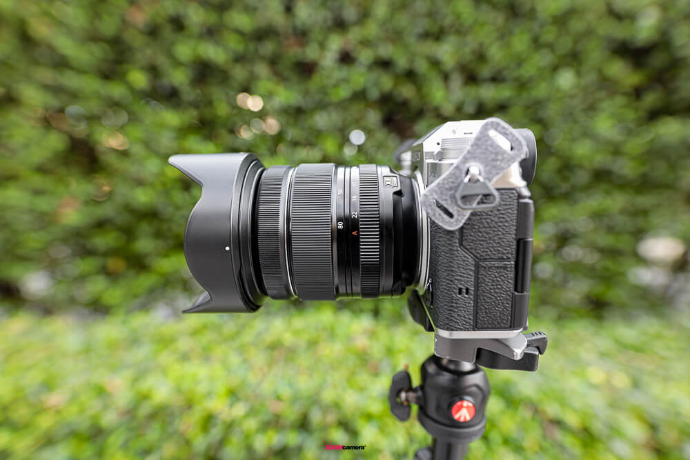 Review Fujifilm 16-80 F4 OIS WR Focal Rength 16mm.