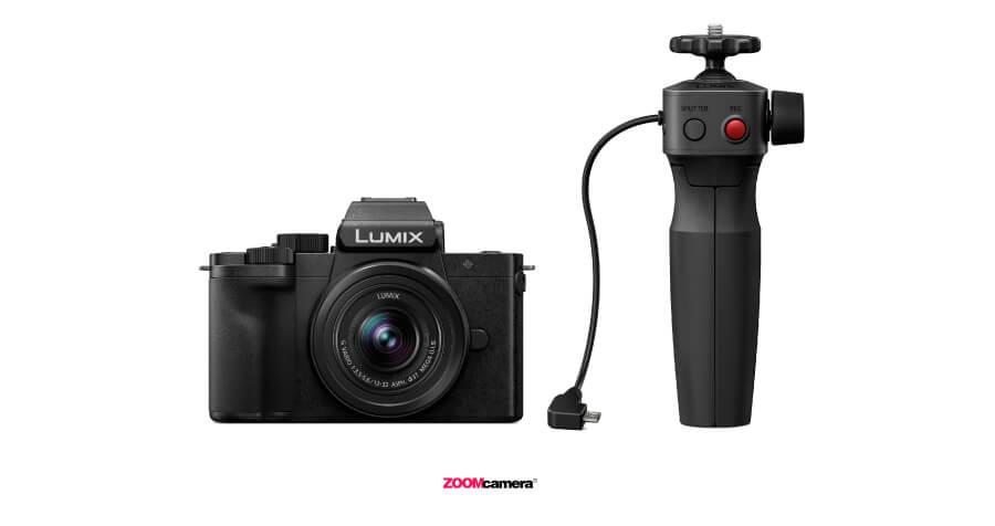 รีวิว Panasonic Lumix G100 ฟีเจอร์ Tripod Grip