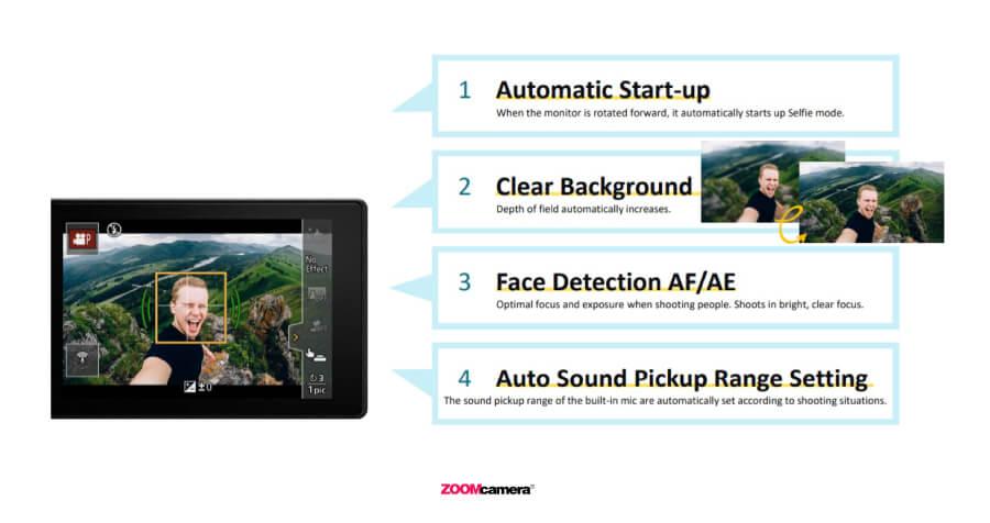 รีวิว Panasonic Lumix G100 ฟีเจอร์ video selfy mode