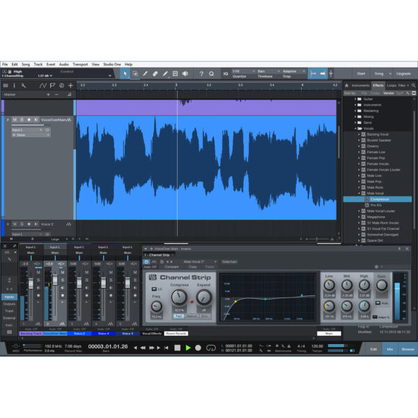Blue Yeticaster Studio Bundle with Software (Blackout)- zoomcamera
