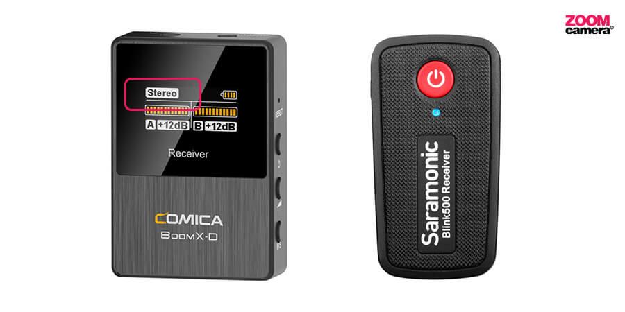 Comica-boomX-vs-Saramonic-Blink-500_ปรับได้-2-โหมด-Mono-และ-Stereo
