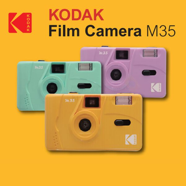 Kodak KDA00233 Vintage Retro M35 35mm Reusable Film Camera