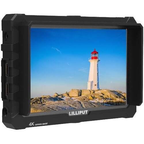 Lilliput A7S 7 Full HD Monitor with 4K Support Black Case 1 1