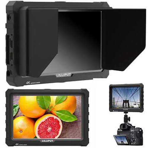 Lilliput A7S 7 Full HD Monitor with 4K Support Black Case3