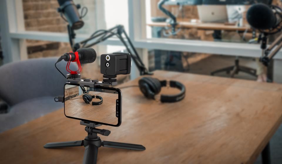 MOZA Mirfak Vlogging Kit Set ชุดอุปกรณ์ถ่ายวีดีโอ ไลฟ์สด Live Vlog Youtuber 10