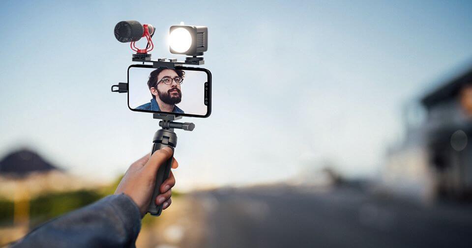 MOZA Mirfak Vlogging Kit Set ชุดอุปกรณ์ถ่ายวีดีโอ ไลฟ์สด Live Vlog Youtuber 11