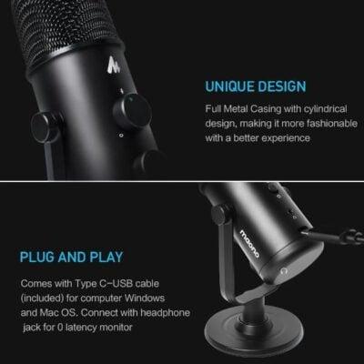 Maono AU 903 Fairy Premium USB Microphone 2