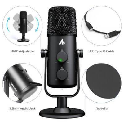 Maono AU 903 Fairy Premium USB Microphone 5