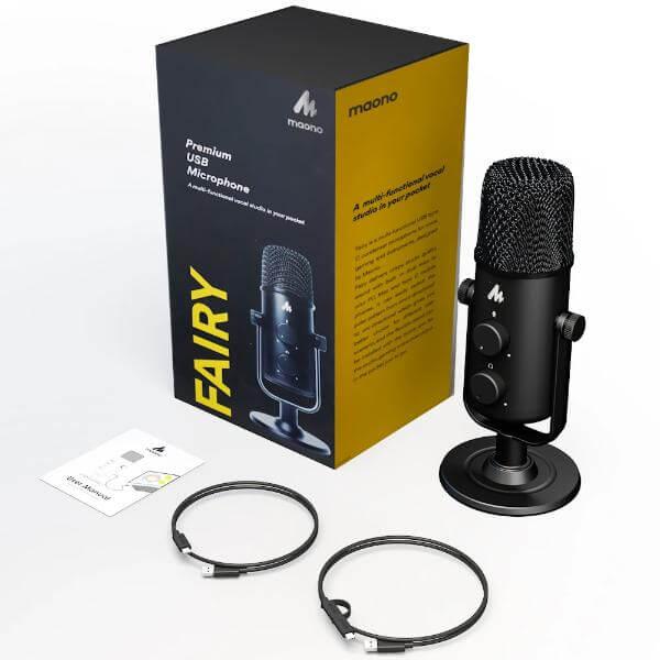 Maono AU 903 Fairy Premium USB Microphone 6