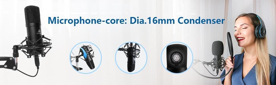Maono AU A04T Destop USB Microphone Set 13
