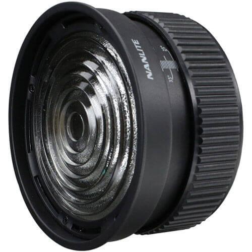 Nanlite FL-11 Fresnel Lens for Forza 60 with Barndoor