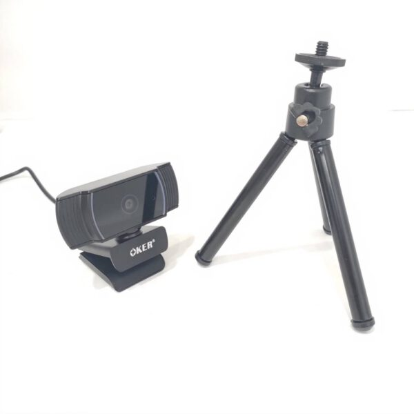 OKER A229 Full HD Webcam USB 2.0 with Mini Tripod