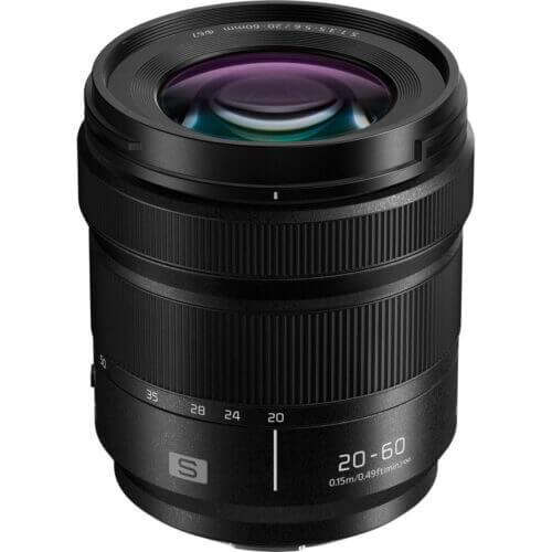 Panasonic Lumix S 20 60mm f3.5 5.6 Lens 1