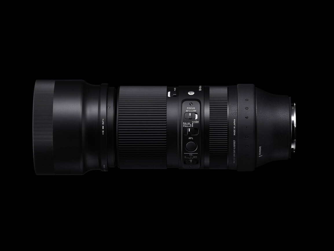 SIGMA 100 400mm F5 DG DN OS Contemporary 12