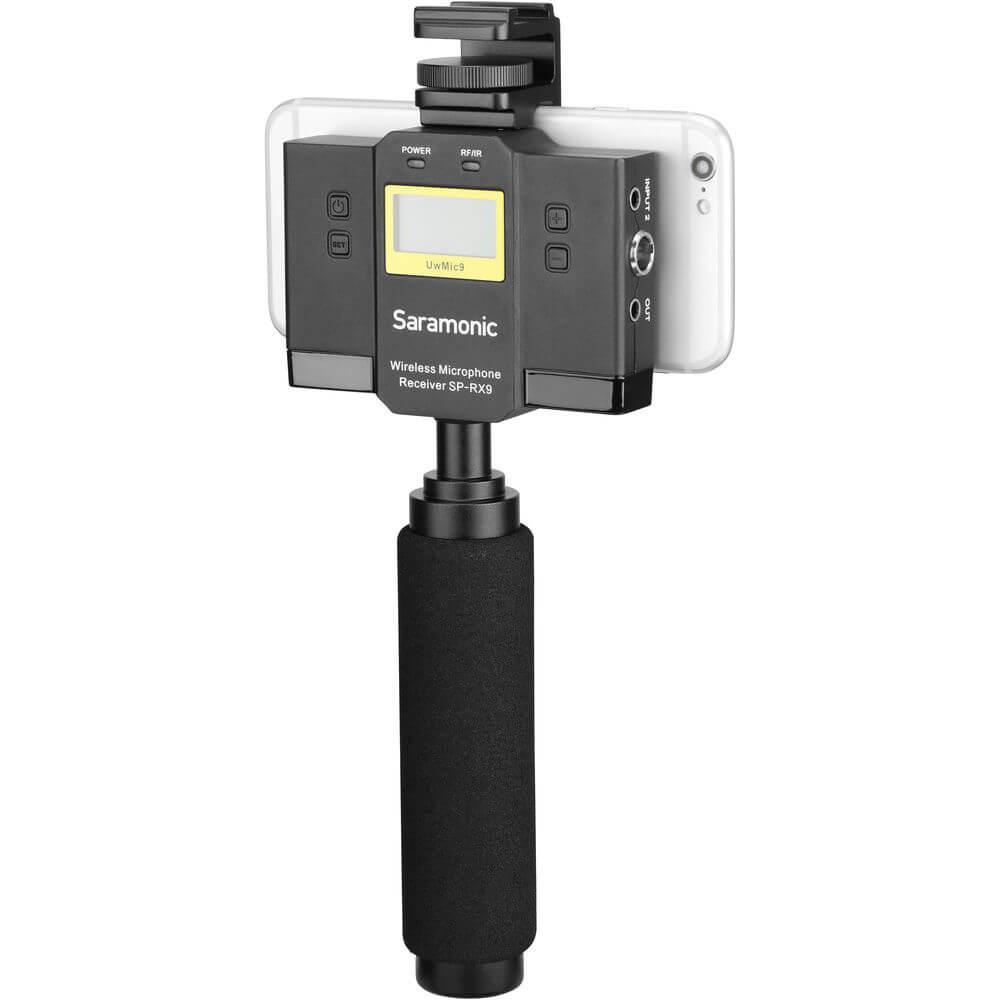 Saramonic UwMic11TH SP-RX11 UHF Wireless Receiver and Mixer
