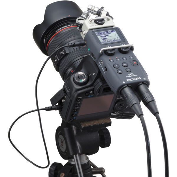 Zoom H5 4 Input 4 Track Portable Handy Recorder 3