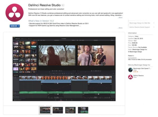 davinci resolve studio on the mac app store 1024x758 1