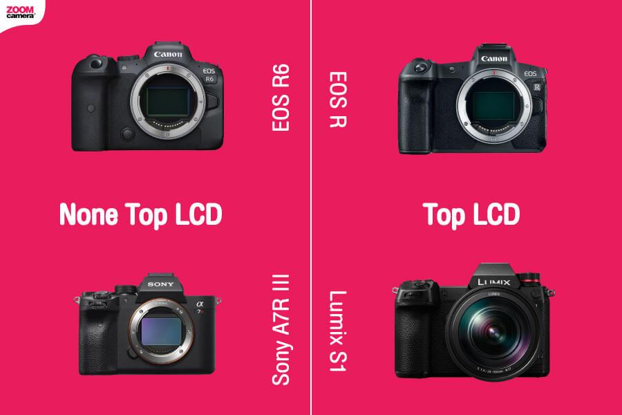 เปรียบเทียบ EOS R6 handheld