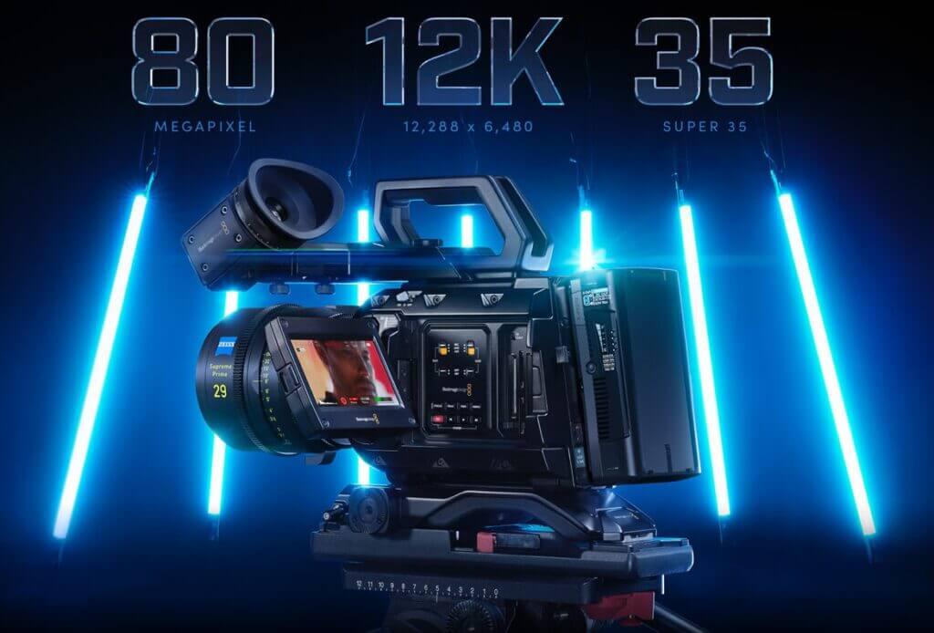 เปิดตัว blackmagic video 12k feature