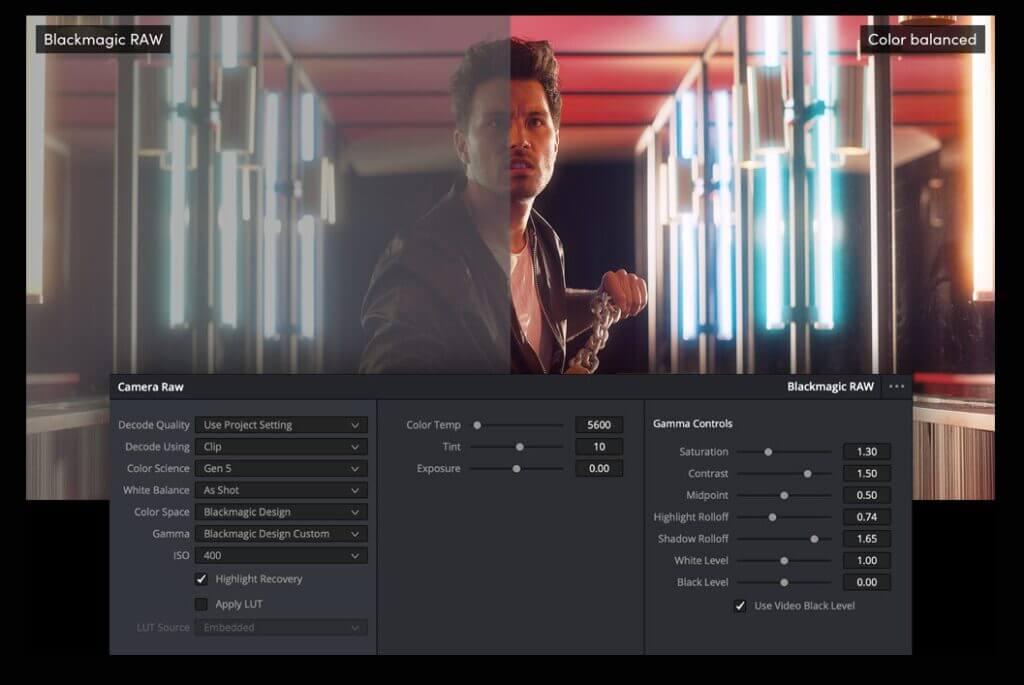 blackmagic video 12k feature raw