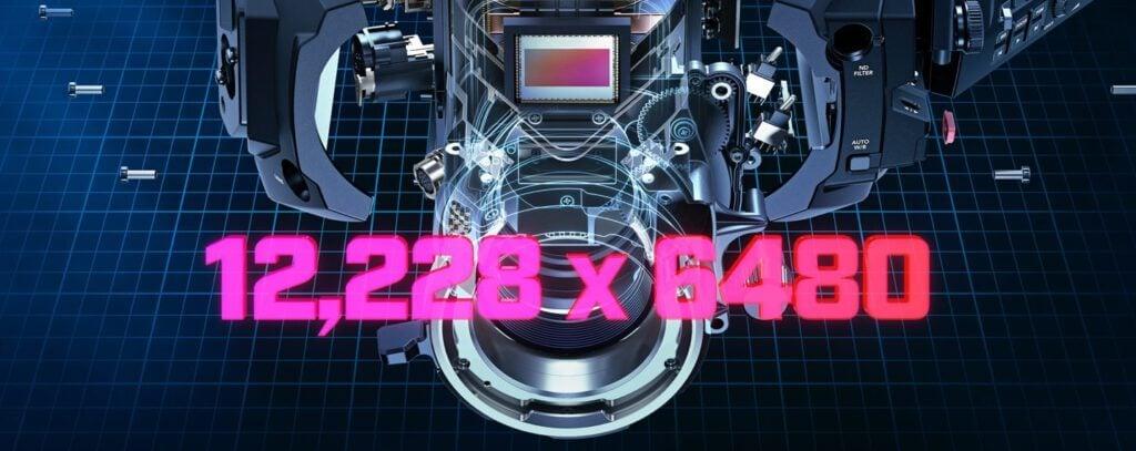 เปิดตัว blackmagic video 12k feature resolution