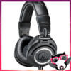 Audio Technica ATH M50x Monitor Headphones Black 1 1