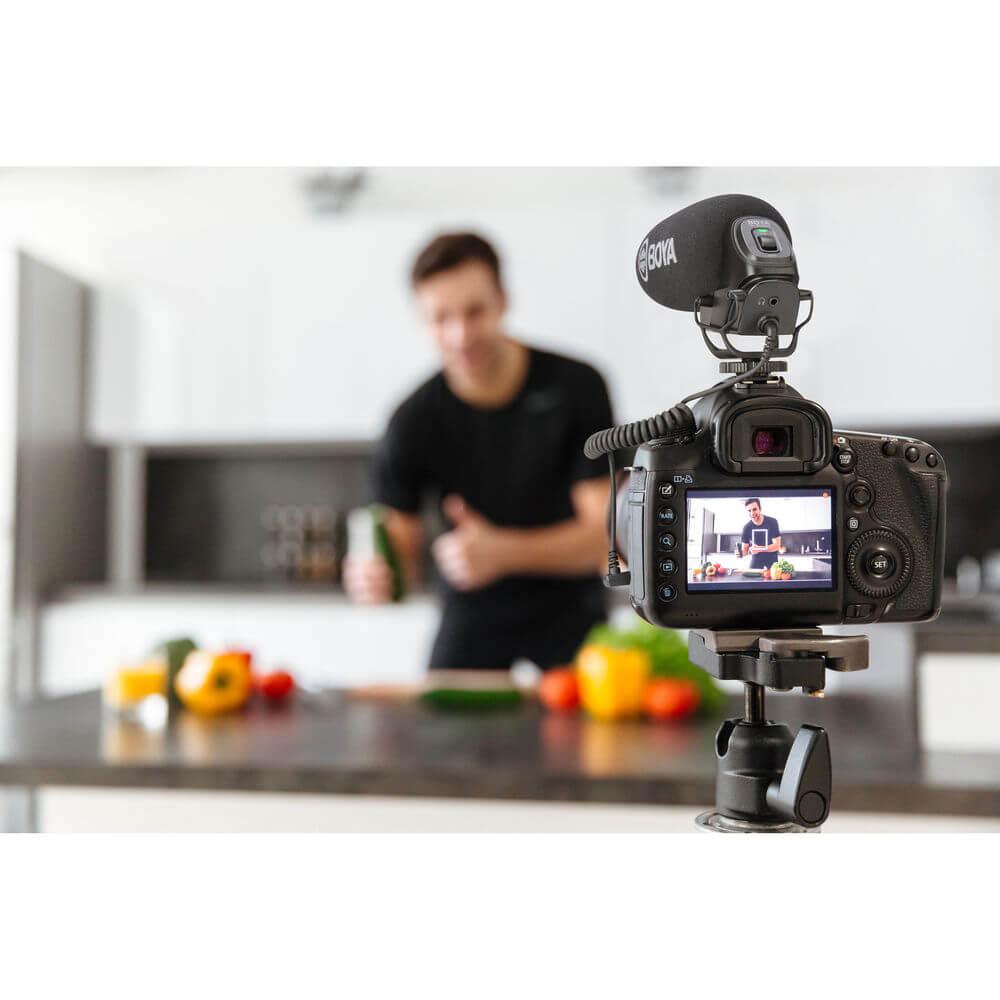 BOYA BY-BM3030 On-Camera Supercardioid Shotgun Microphone