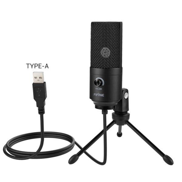 Fifine K669B USB Microphone new 2