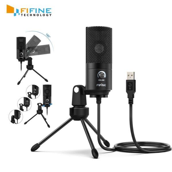 Fifine K669B USB Microphone new 3