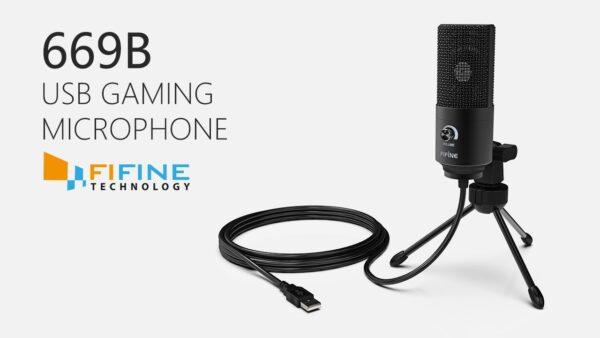Fifine K669B USB Microphone new 7