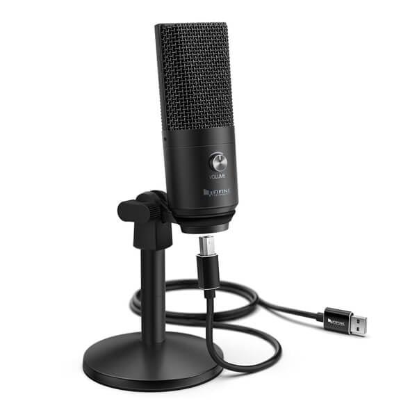 Fifine K669B USB Microphone new 8