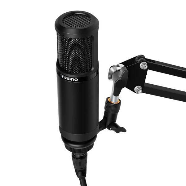 MAONO AU-PM320 XLR Condenser Microphone Professional Vocal Studio Mic