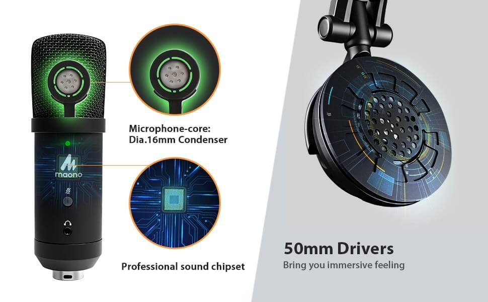 MAONO AU PM401H USB Microphone 15